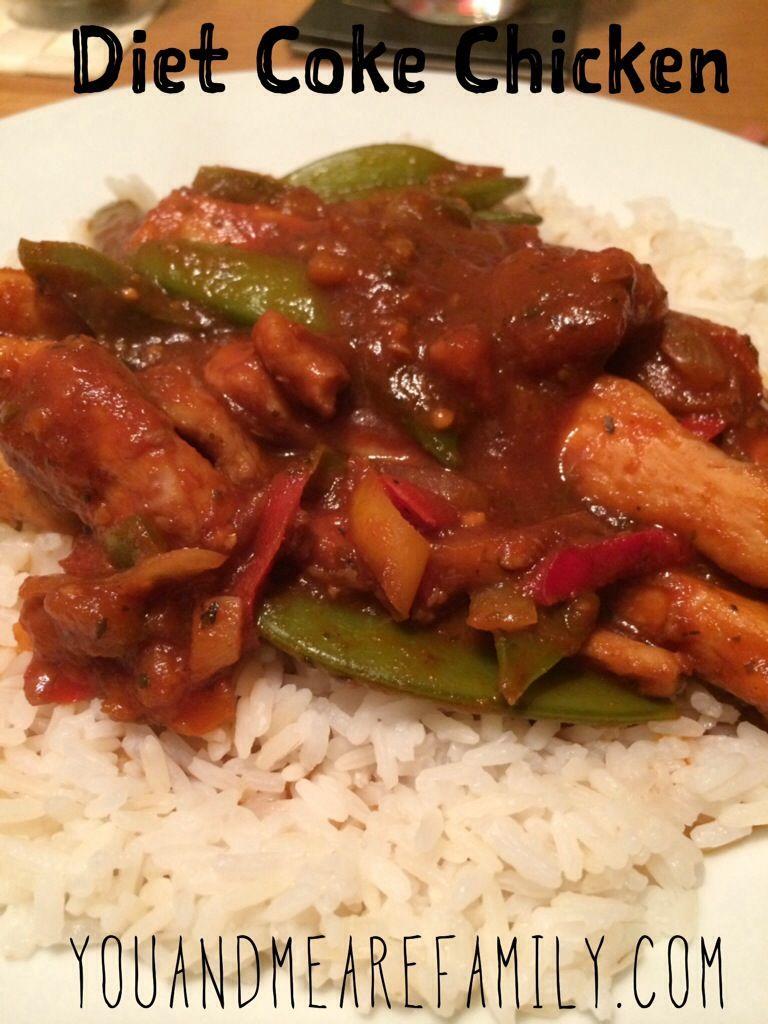 Recipe of coke chicken