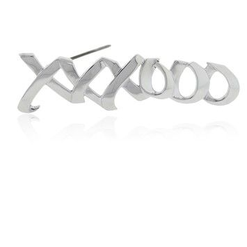 856df3a9f Tiffany & Co. Paloma Picasso XO Pin. Get the lowest price on Tiffany & Co. Paloma  Picasso XO Pin and other fabulous designer clothing and accessories!