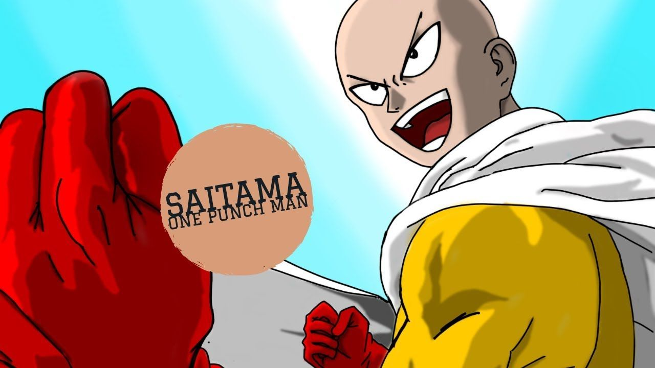 One punch man timelapse one punch man saitama one punch
