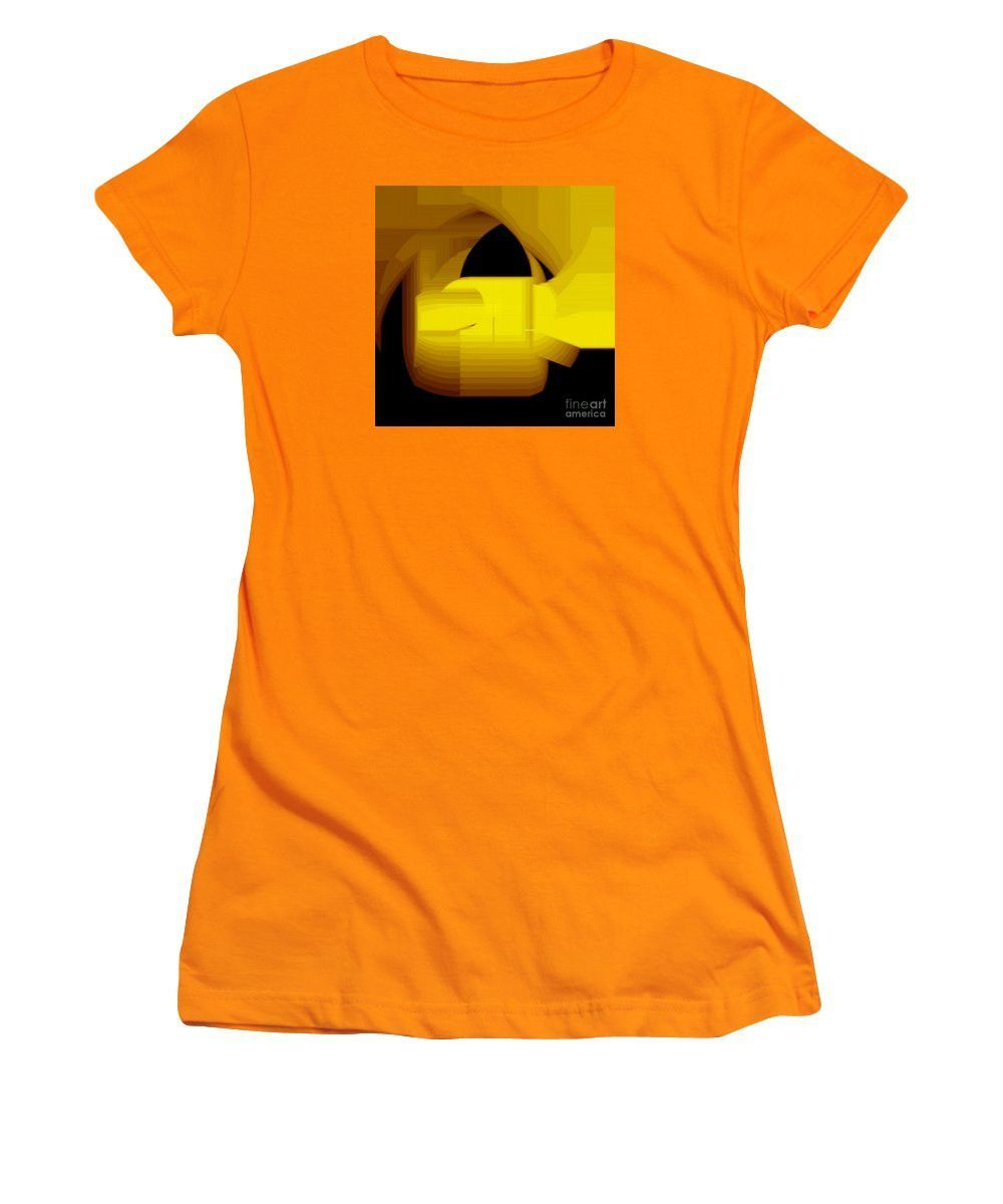Women's T-Shirt (Junior Cut) - Abstract 9727