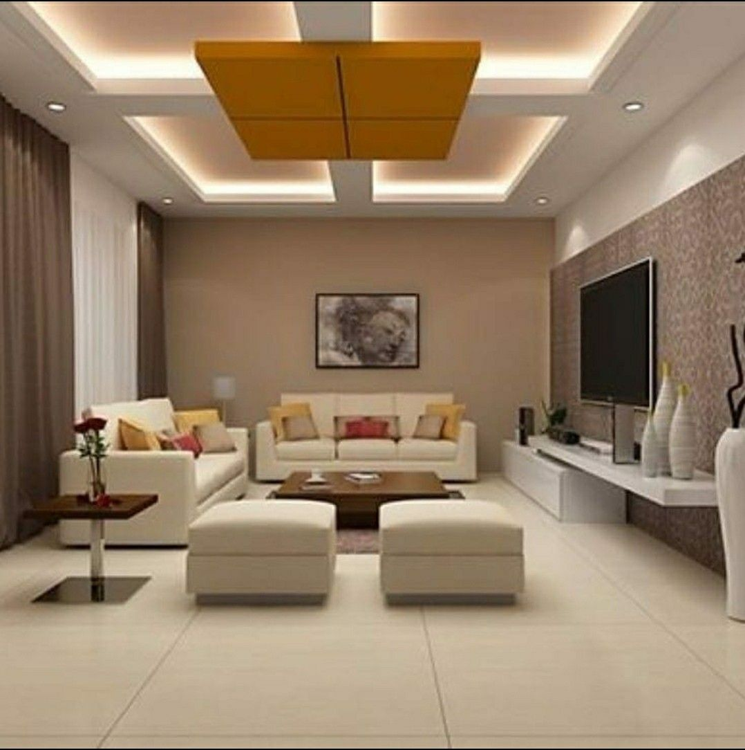 False ceiling design for drawing room in 2020 | Ceiling ...