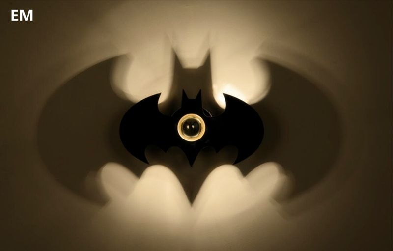 Batman wall light 2922 httpalifindsbatman wall light alice in wonderland earrings apliquesbatmanadiccinali batman wall light aloadofball Choice Image