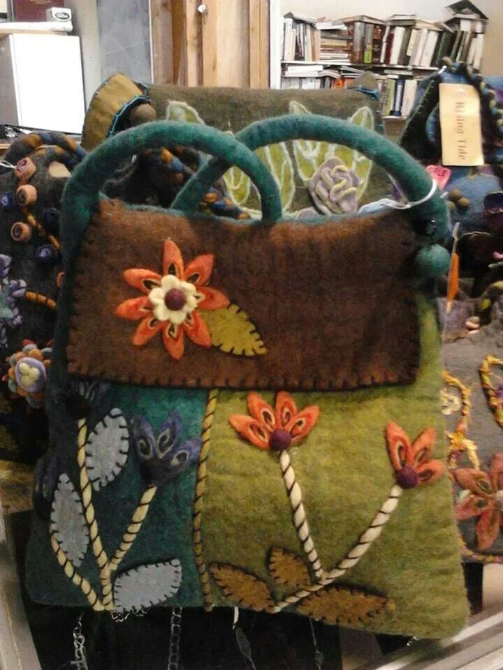 Felted wool purse. prices range from4575. available