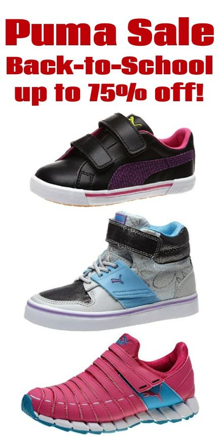 01e85458c29f Puma Back-to-School Sale ~ up to 75% off!!  shoes