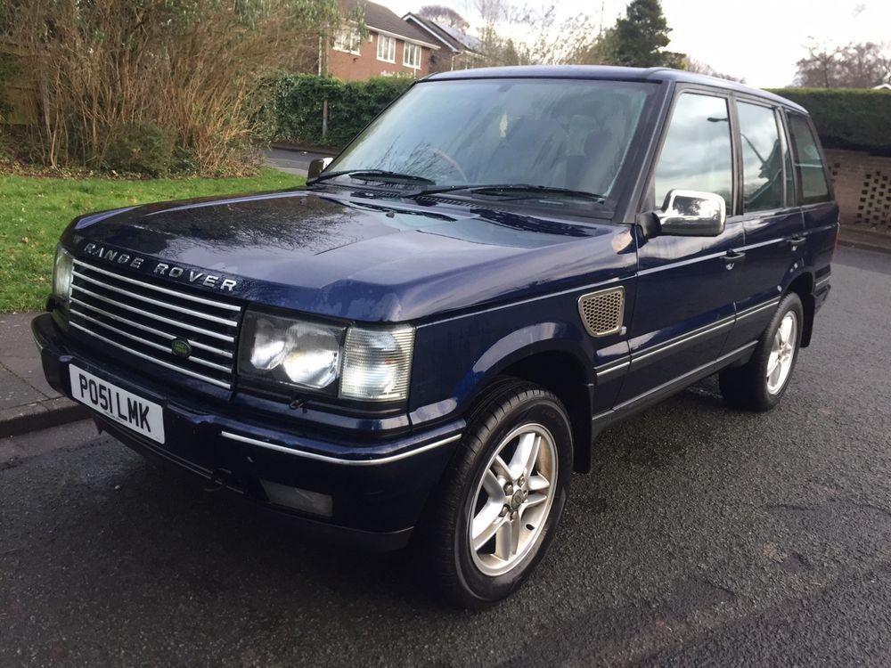 Ebay 2001 51 Land Rover Range Rover 2 5 Dhse Auto Diesel Blue Spares Or Repairs Carparts Carrepair