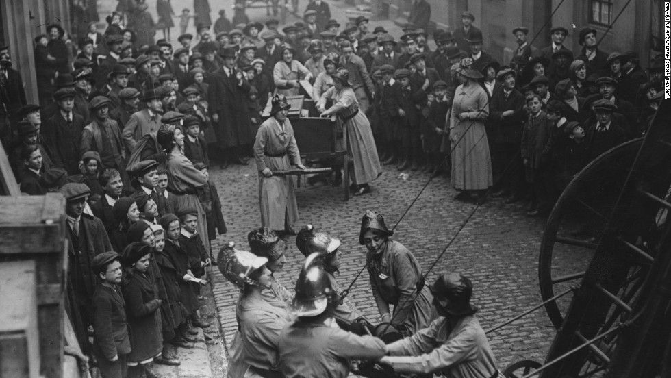 Opinion: The mighty women of World War I   Historical ...