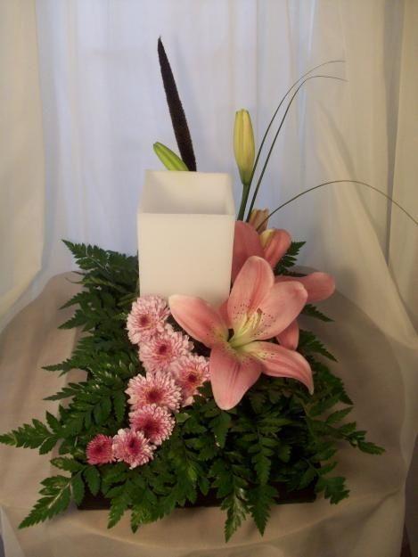 Arreglos florales vintage buscar con google arreglos - Arreglos con velas ...