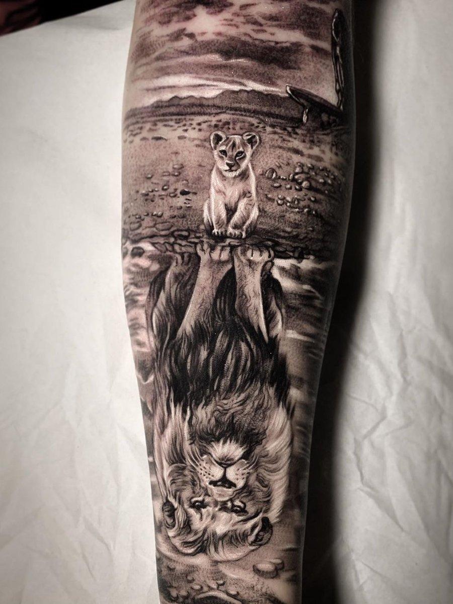 Ramon Auf Wolf Tattoo Sleeve Lion Tattoo Sleeves Lion Head Tattoos