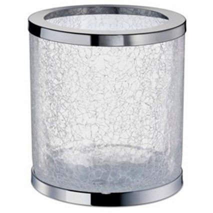 Windisch By Nameeks 89164 Cr, Glass Bathroom Trash Can