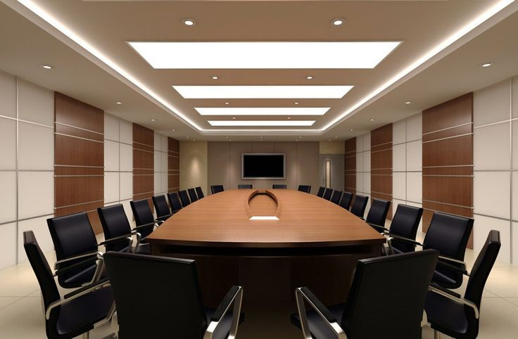 Meeting room design google pinterest for Office conference room decorating ideas