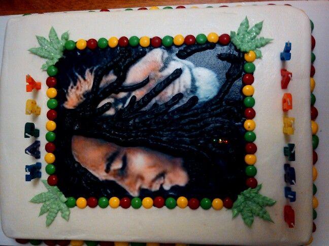 Bob Marley cake Cake Creations by Holly Pinterest Bob marley