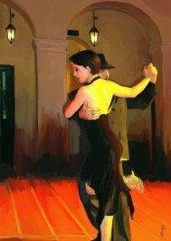 Tango Dancer I