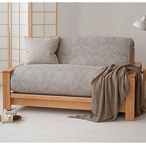 Leather Sofa The stylish Panama solid wood futon sofa bed includes a layer futon mattress A fortable bed and sophisticated sofa with a solid wood frame