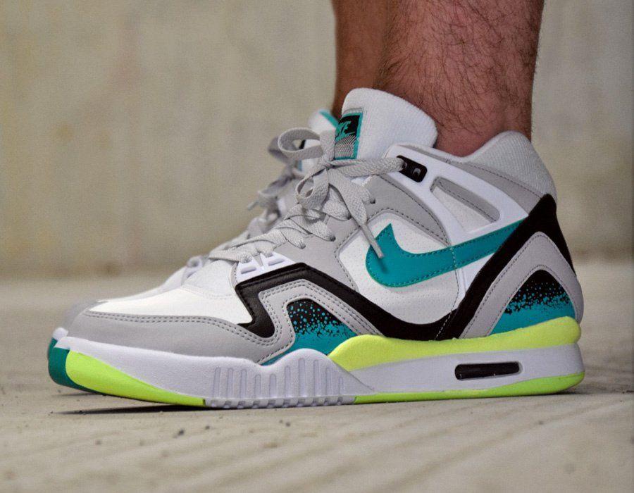 Nike Air Tech Challenge II TurboGreen #sneakers   JM en