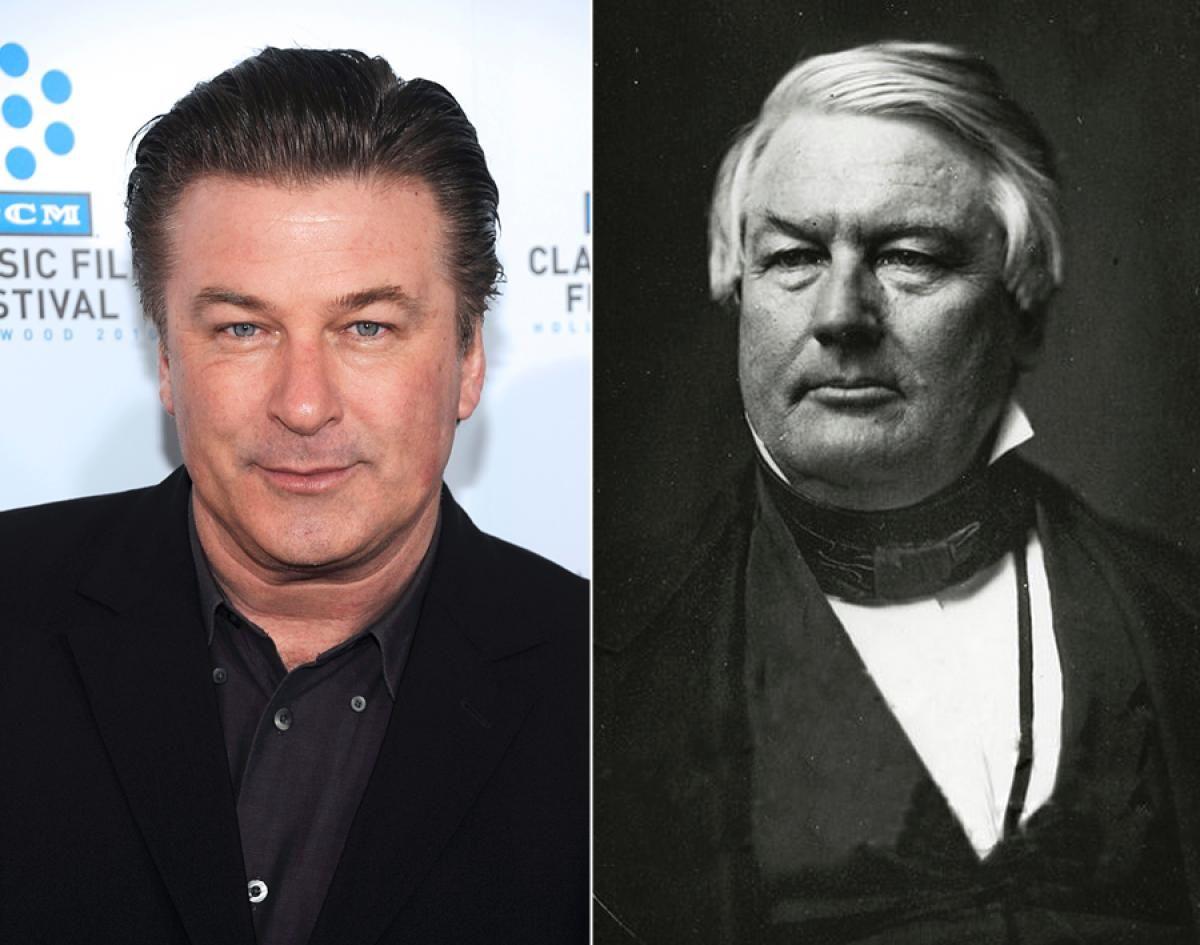 Alec Baldwin has a historical doppelganger.