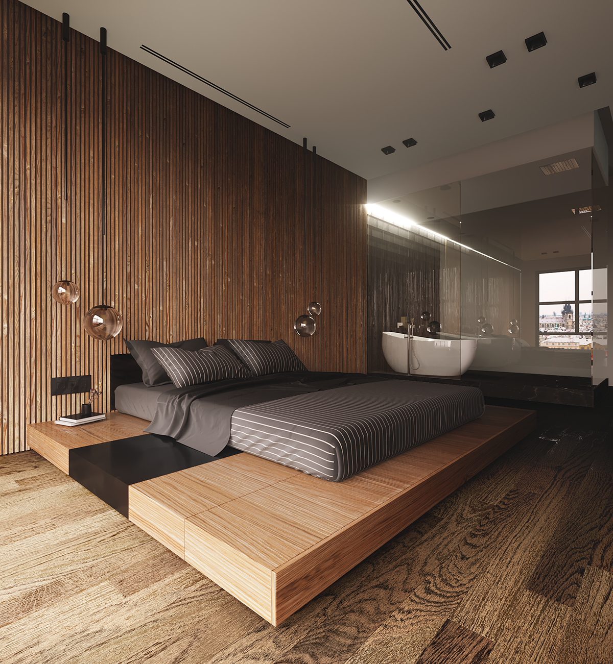 """Visualization project by reference """"forms arhitects"""" on ... on Bedroom Reference  id=26688"""