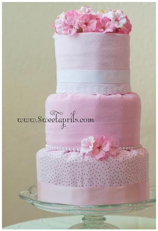How to Make a Diaper Cake : 50 DIY Diaper Cake Tutorials