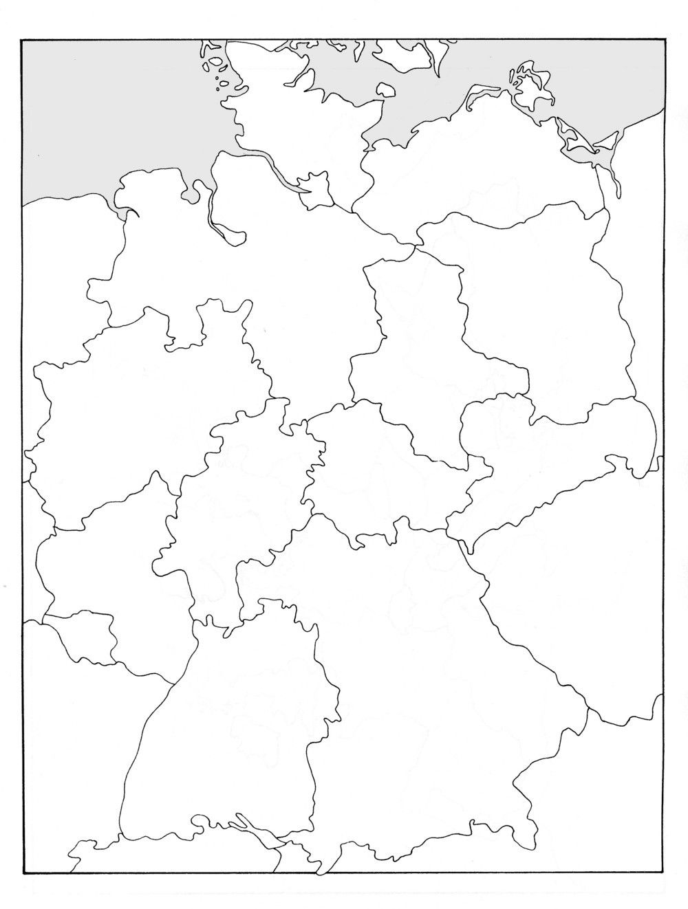 Bildvorschau German Map Geography