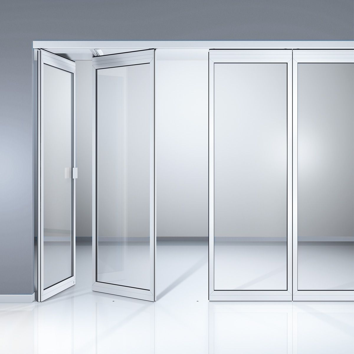 Partition walls round glass sliding door draw google for Sliding door partition wall