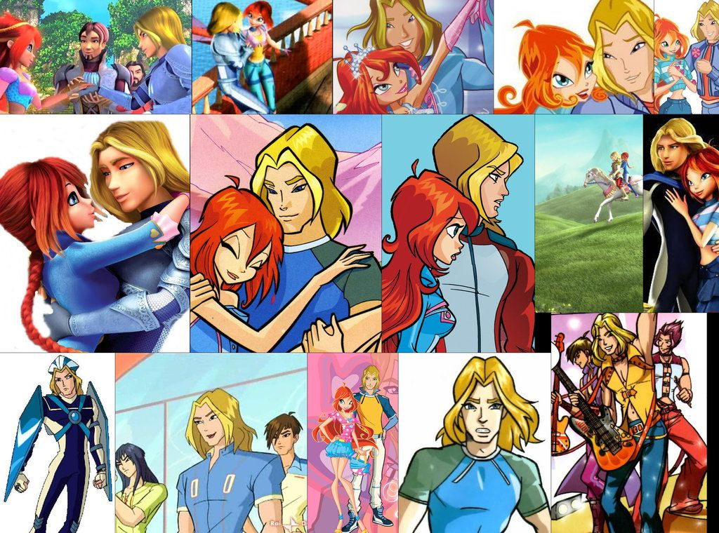 Winx club bloom and sky yahoo image search results - Bloom dessin anime ...
