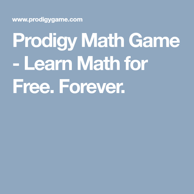 Prodigy Math Game Learn Math for Free. Forever