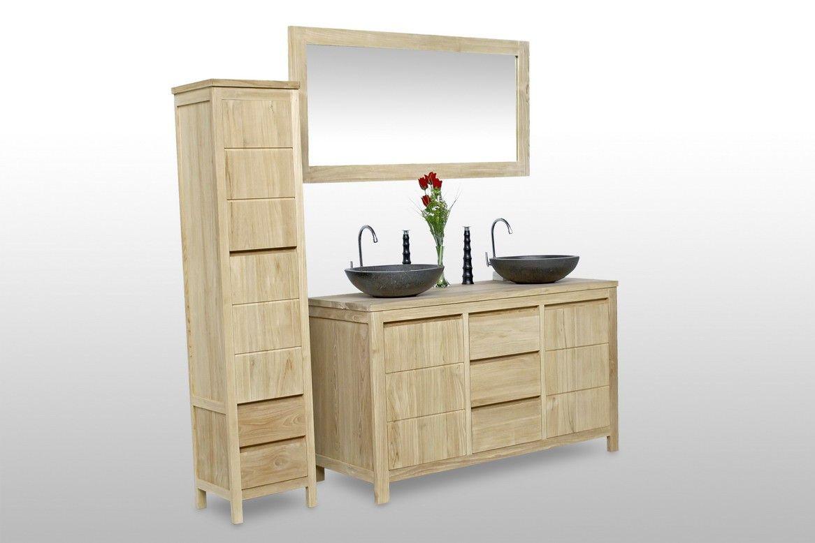 meuble sous vasque teck salledebain ruedesiam rue de. Black Bedroom Furniture Sets. Home Design Ideas