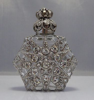 Wholesale Decorative Perfume Bottles Czech Glass Handmade Oil Perfume Holy Water Bottle 487505