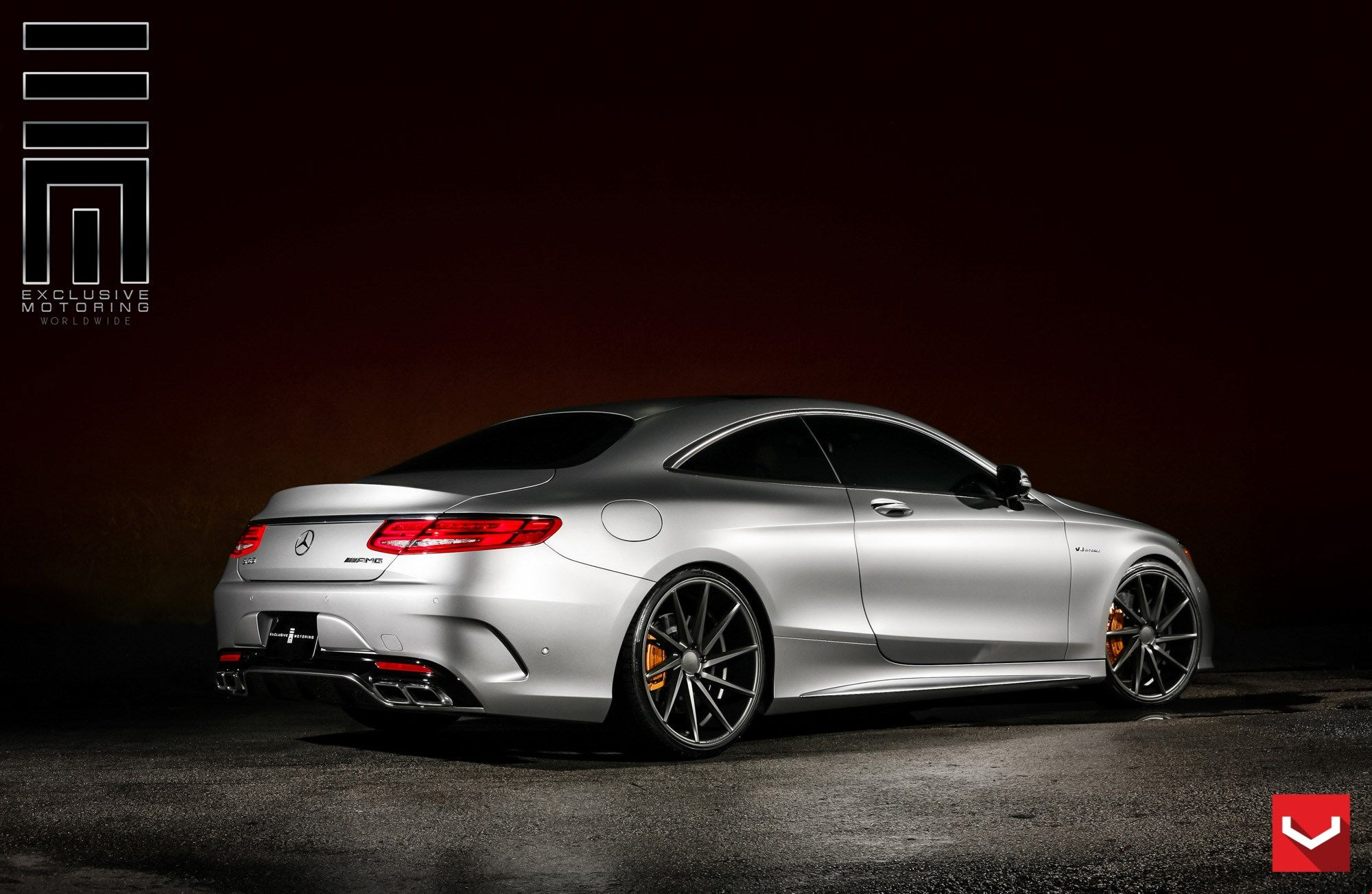 Vossen Wheels Mercedes Benz S Class Coupe Vossen CVT