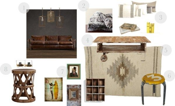 The Masculine Shabby Chic. | Modage Cottage Interiors ...