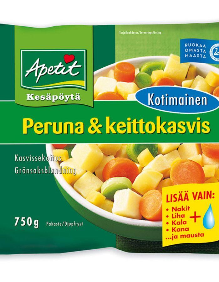 Domestic potato & vegetables, Apetit