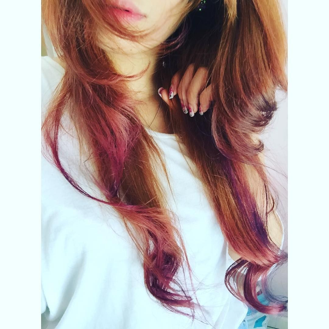 Tissue Paper Hair Dye Crepe Paper Hair Color Trend Hair Color Trends Dyed Hair How To Dye Hair At Home