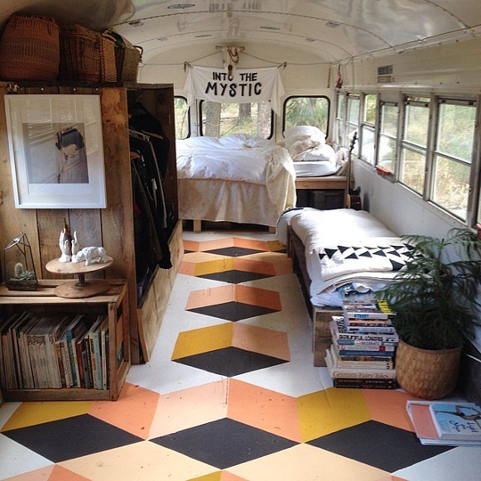 Kitchen Flooring Apartment Therapy: A Gallery Of Scene-Stealing Painted Floors