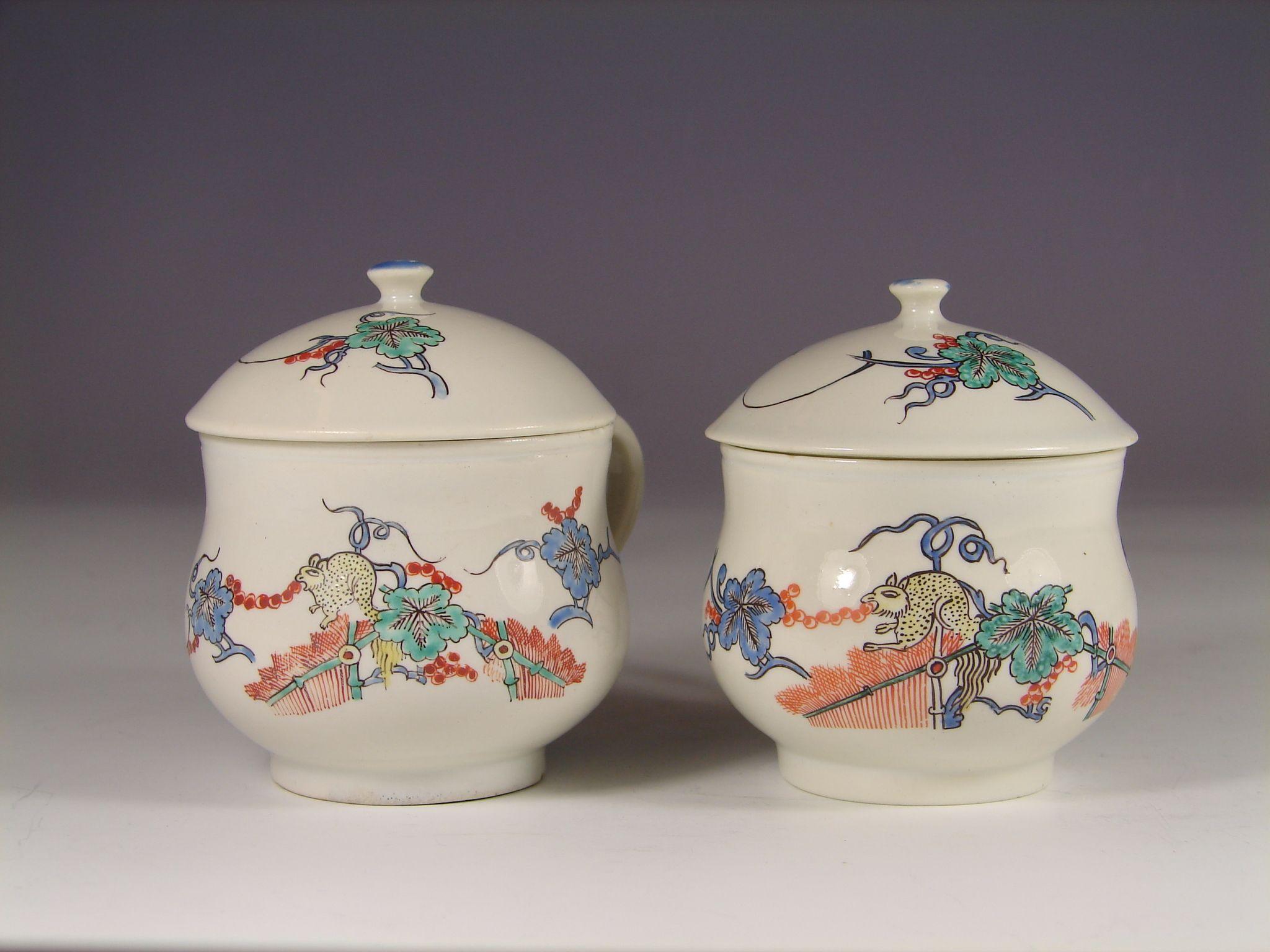 Porcelaine de Chantilly Kakiemon