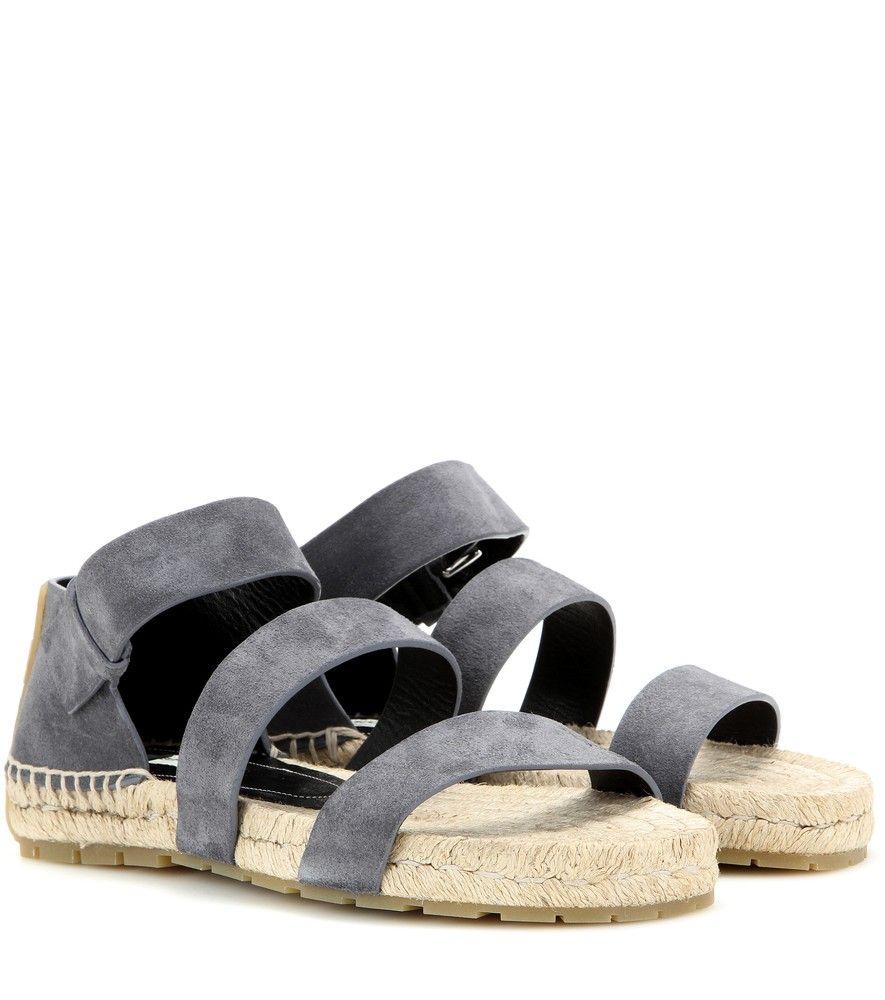 eeff58b9134a Balenciaga - Suede sandals - Let Balenciaga take care of your summer shoe  edit. Trust