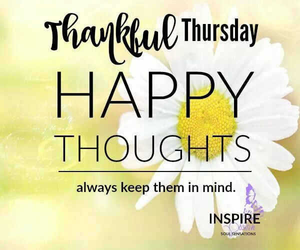Healthy Good Morning Quotes: Thankful Thursday