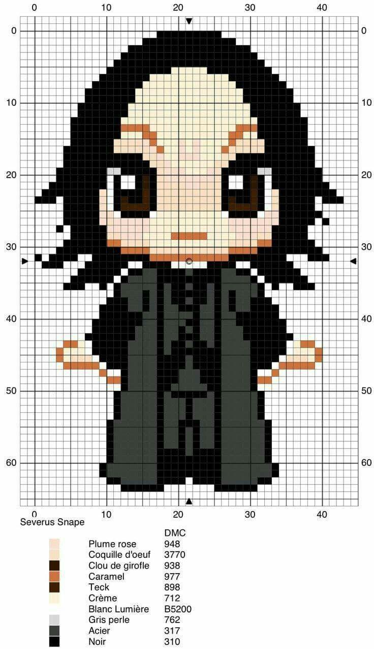 Professor Severus Snape | Mean Skein | Pinterest | Nähmuster ...