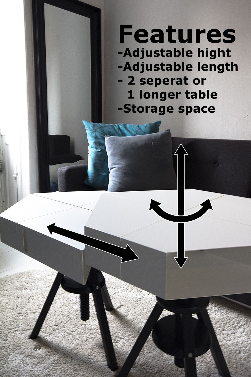The Kvissle Adjustable Coffee Table Don T You Wish Ikea Really