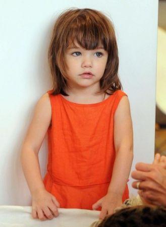 Coupe de cheveux pour enfant avec visage rond Coupes de