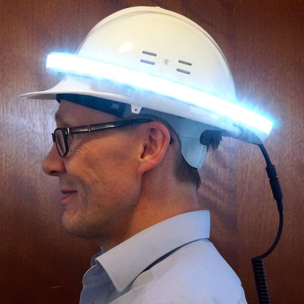 See And Be Seen On The Construction Site With This Innovation Aec Business Construction Site Construction Innovation
