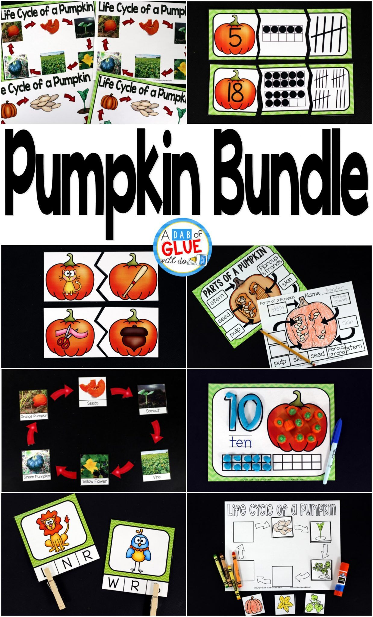 Pumpkin Editable Sight Word Activity With Images