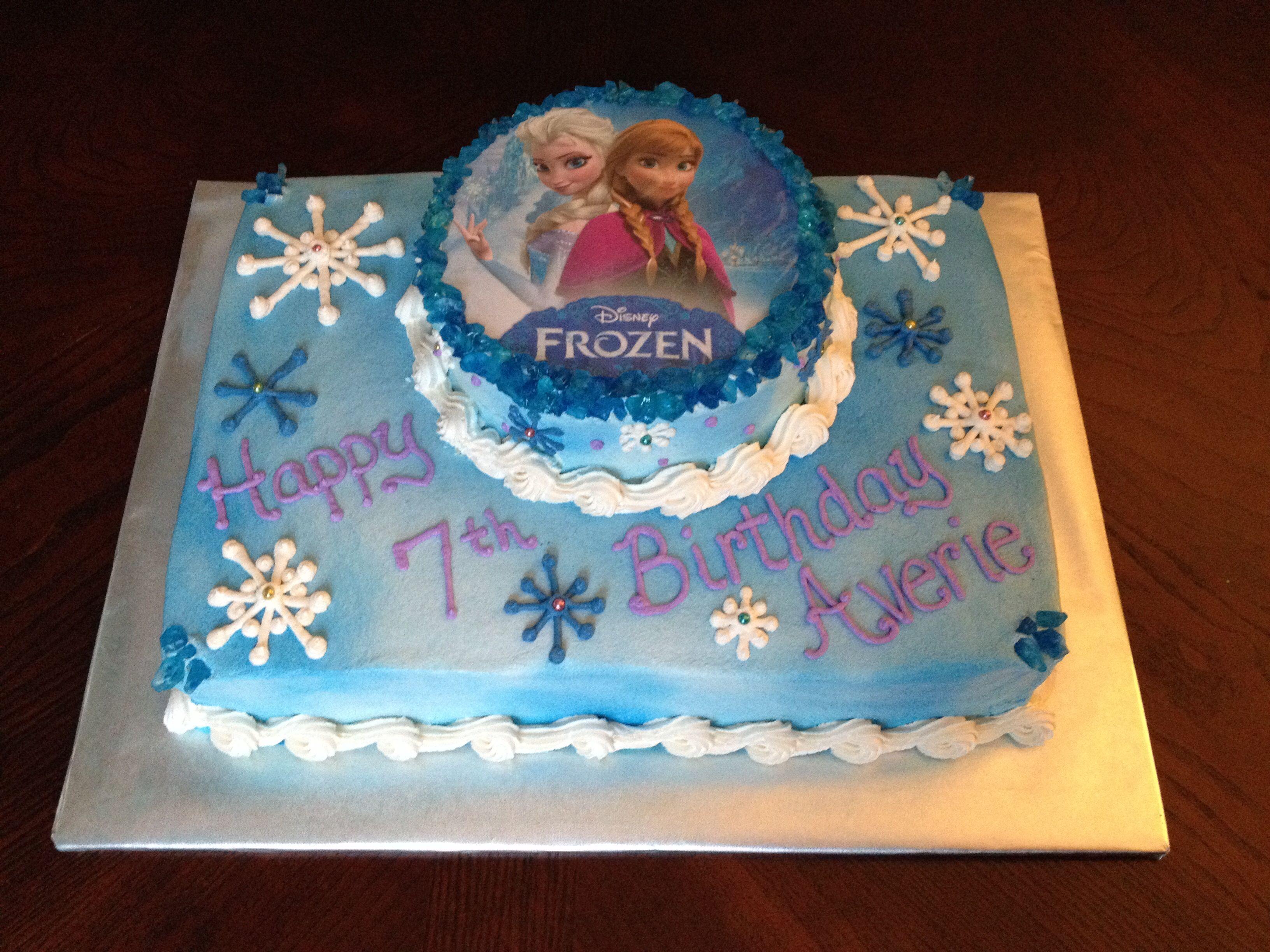 Disney Frozen Cake Elsa And Anna Natalie Pinterest Disney