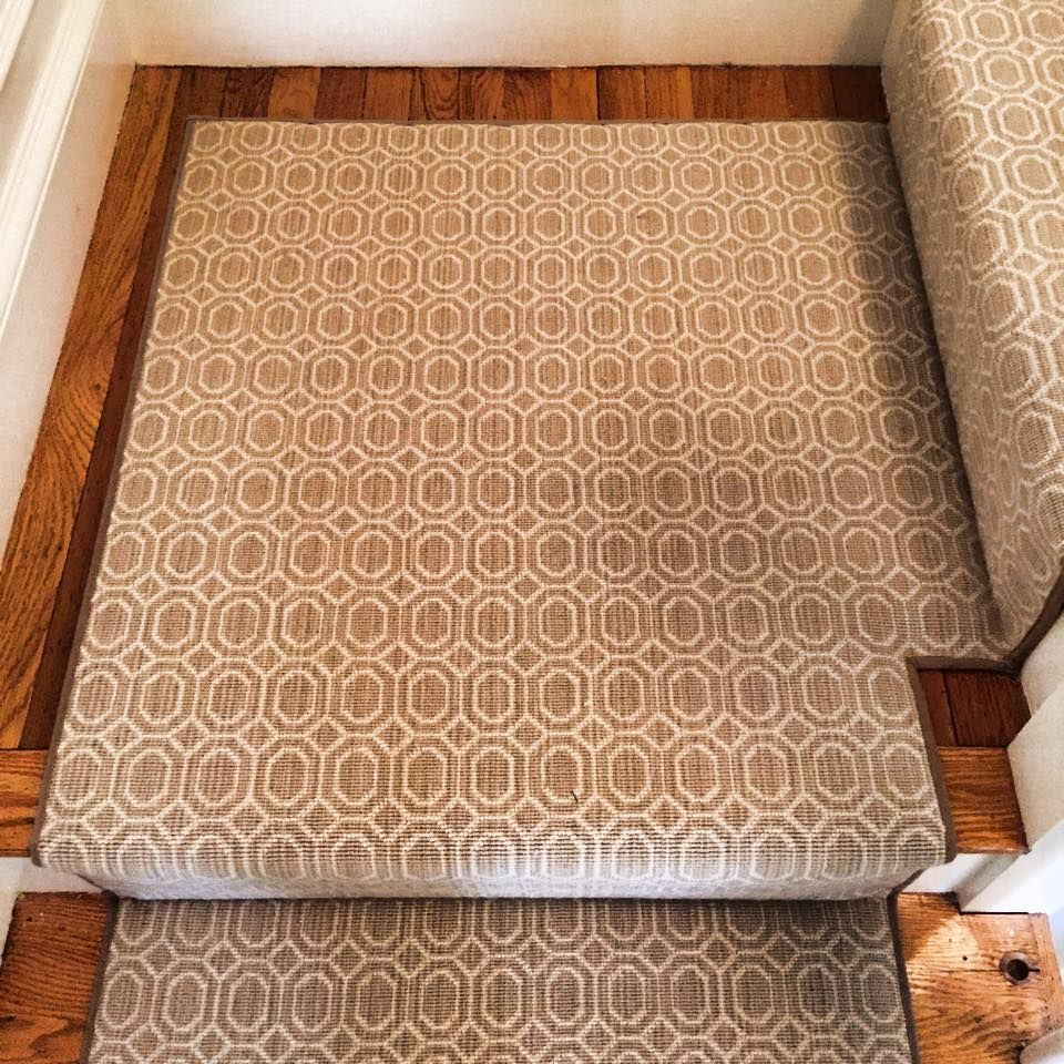 Check Out This Custom Stanton Carpet Stair Runner That We