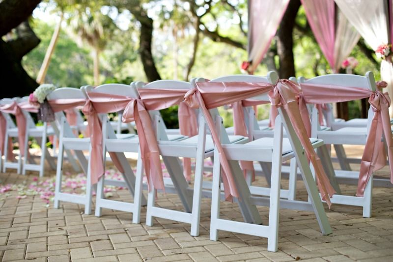 Hampton Inn Jekyll Island Sun Sea Beach Weddings Chair Sashes Wedding Chairs Wedding Chair Sashes