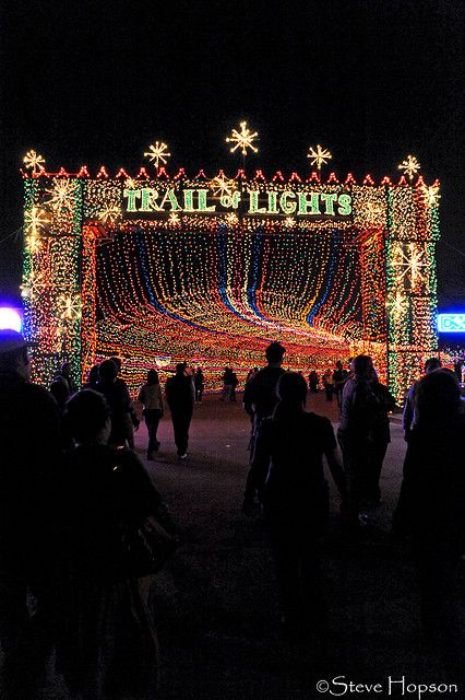 Trail Of Lights Zilker Park Texas Christmas Trail Of Lights Austin