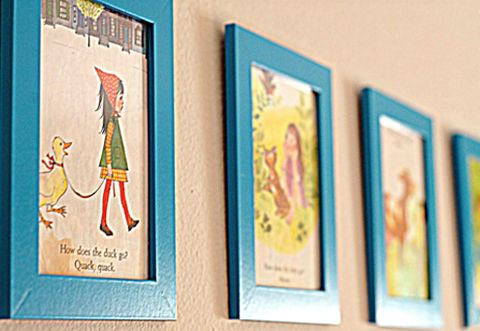 Diy Repurpose Old Children S Books Diy Nursery Art