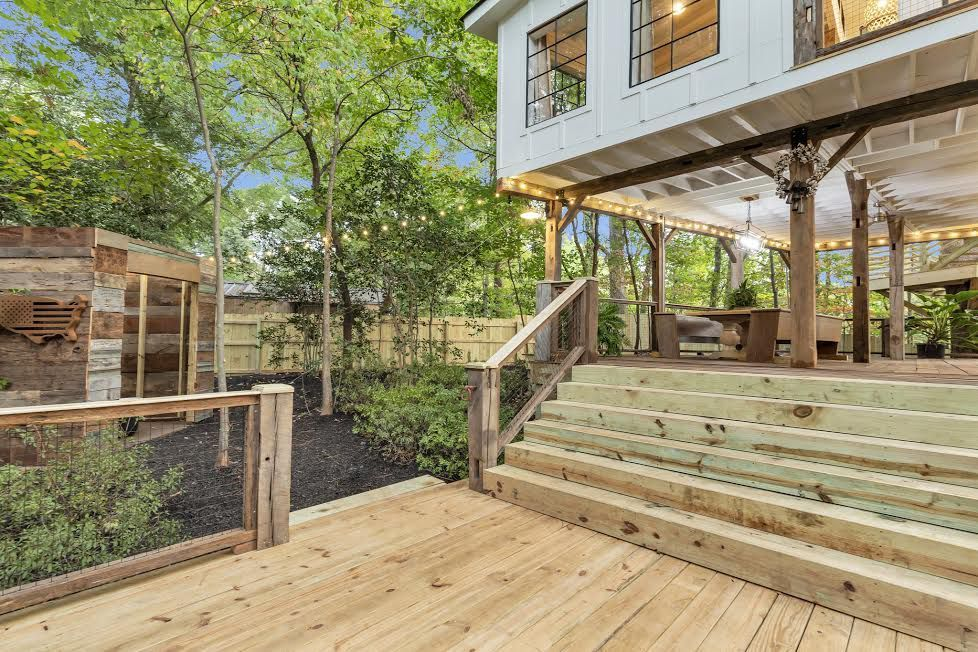 Photos Stylish Airbnb Treehouse Has Risen Over East Point