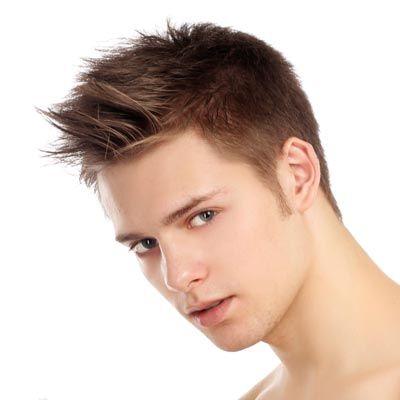 Short Sides Spiky Hairstyles Men