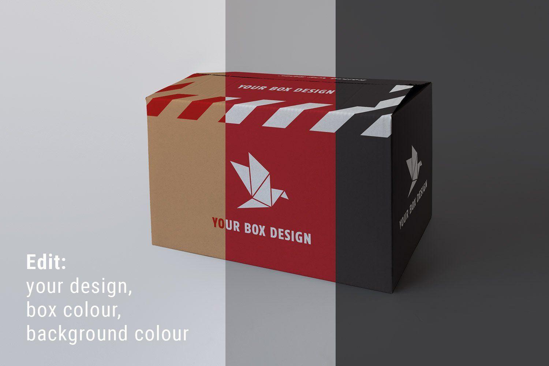 5375+ Box Mockup Creator Photoshop File