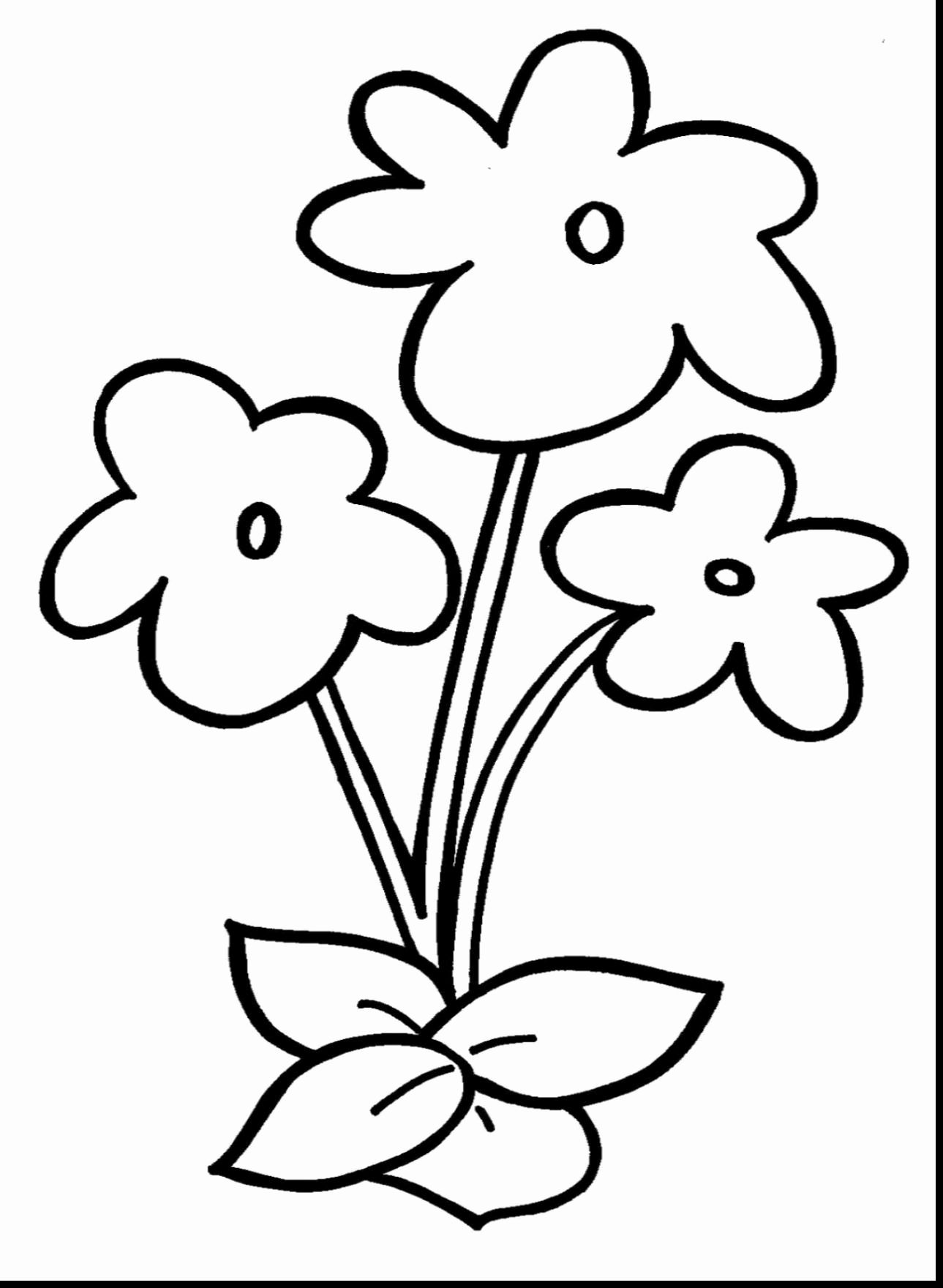 Pdf Flower Coloring Pages Kids Flower Coloring Pages Printable Flower Coloring Pages Flower Printable