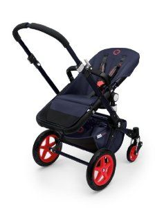 Amazon.com: Bugaboo Cameleon3 Stroller Special Edition Neon Collection (Blue/Red): Baby